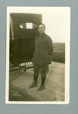 In Military Uniform whilst Serving in WW1