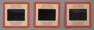 Three colour slides of MCG May 1958 & May 1959