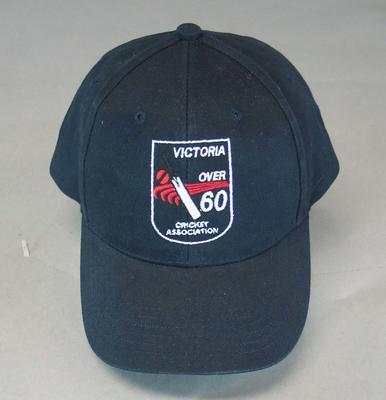 Cap, Victoria Over 60 Cricket Association