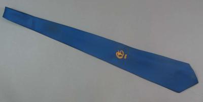 "Tie, ""1974 Pennant"" logo"