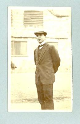 Postcard, image of Frank Beaurepaire in Hastings - 1 July 1910