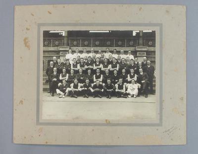 Photograph of Melbourne Football Club, 1925