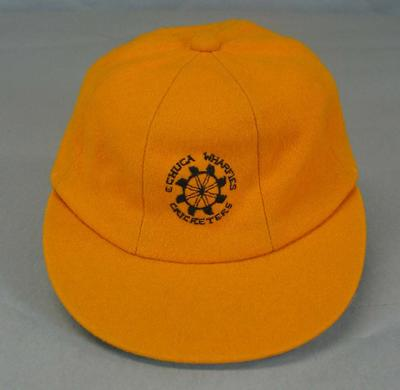 Cricket cap, Echuca Wharfies - 1978