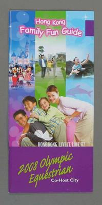 Hong Kong Family Fun Guide, co-host city for the 2008 Olympic Equestrian