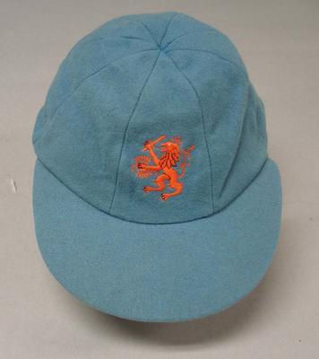 Netherlands cricket team baggy cap worn by Morten Kriek