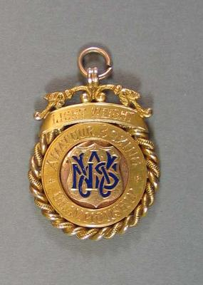 Medallion - Lightweight Amateur Boxing Championships - won by H. Campbell 1926; Trophies and awards; 2008.228.8