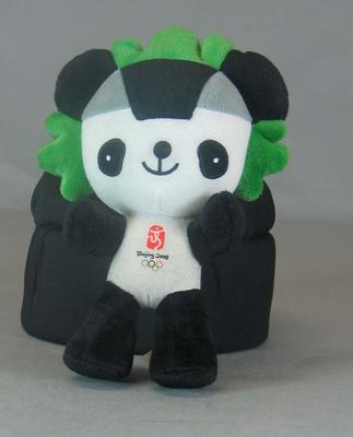 One of 5 plush toy mascots from the 2008 Beijing Olympic Games - 'Jingjingi'.