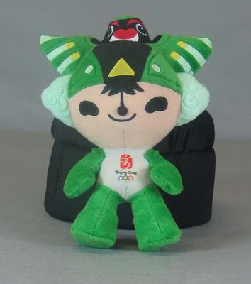 One of 5 plush toy mascots from the 2008 Beijing Olympic Games - 'Ninii'.