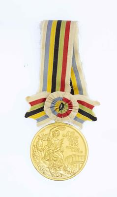 Gold medal won by Kevin Berry, 1964 Tokyo Olympic Games - 200m butterfly