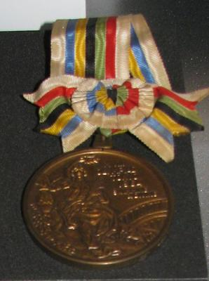 Bronze medal won by Kevin Berry, 1964 Tokyo Olympic Games - 4x100m medley relay