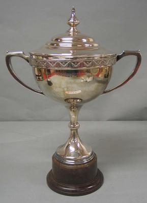 Trophy awarded to Betty Cornwell 1936 - Ladies Championship of Australia, National Ice Skating Association of Australia
