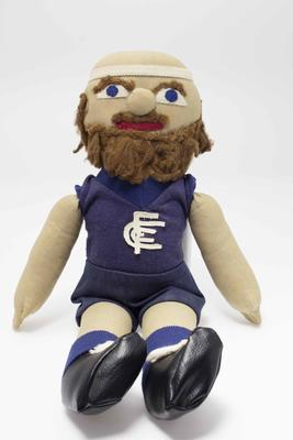 Doll, likeness of Bruce Doull
