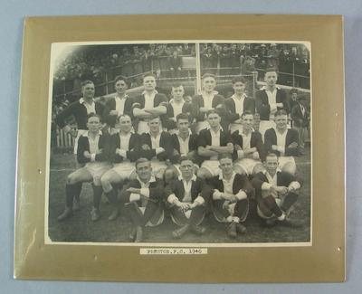 Photograph of Preston Football Club, 1940; Photography; N2009.93.3