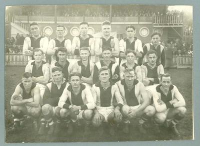 Photograph of Preston Football Club, 1939; Photography; N2009.93.6