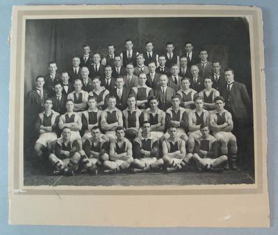 Photograph of Preston Football Club, 1936