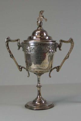 Trophy won by Victoria, Tasmanian Baseball Carnival - February 1910