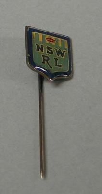 Metal lapel pin, NSW Rugby League
