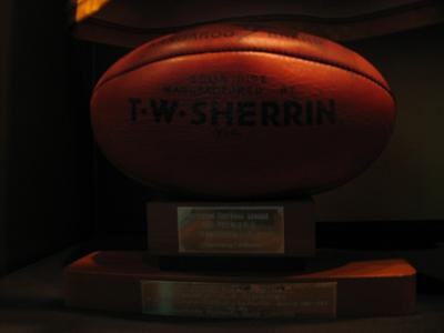Football, used during 1983 VFL Grand Final