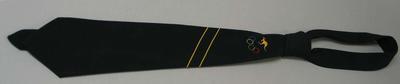 Australian team tie worn by Vern Barberis, 1956 Olympic Games