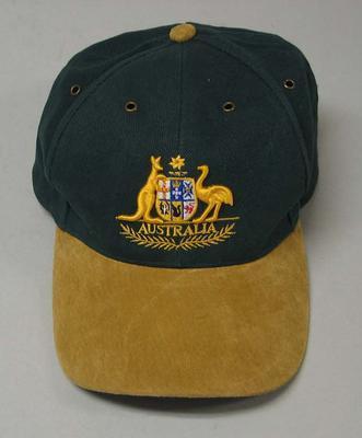 Cap worn by Vern Barberis, 1956 Olympic Games Team Reunion - June 2004