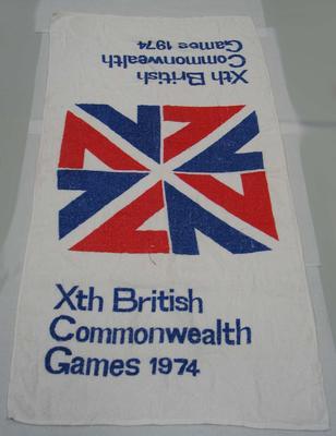 Towel, 1974 British Commonwealth Games