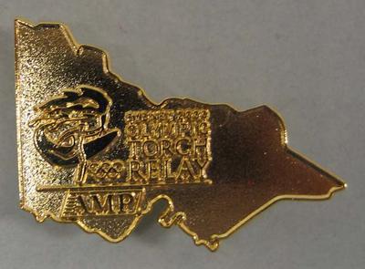 Lapel badge, Sydney 2000 Olympic Torch Relay