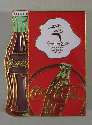 Badge, Sydney 2000 Olympic Games - Coca-Cola design