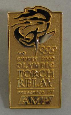 Badge, Sydney 2000 Olympic Torch Relay