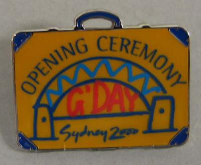 Badge, Sydney 2000 Olympic Games Opening Ceremony