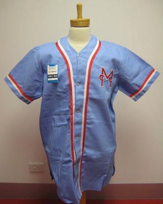 MCC Baseball Section shirt worn by Alan Connolly