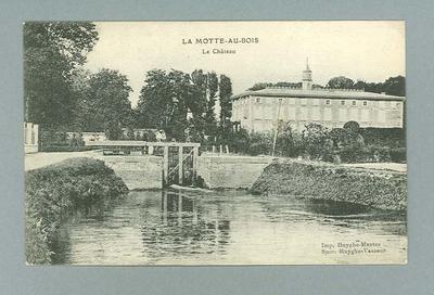 Postcard, image of La Motte-au-Bois