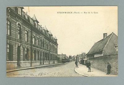 Postcard, image of Steenwerck c1916-17