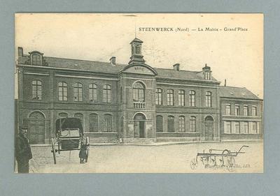 Postcard, image of Steenwerck
