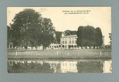 Postcard, image of Château de la Motte-aux-Bois - 1916