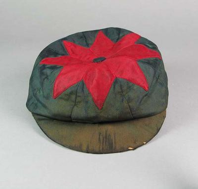 Fitzroy Cricket Club cap, worn by Edward Twentyman c1895-96