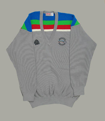 Jumper in New Zealand team colours, 1992 Benson & Hedges World Cup