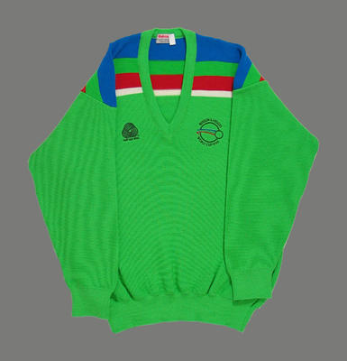 Jumper in Pakistan team colours, 1992 Benson & Hedges World Cup