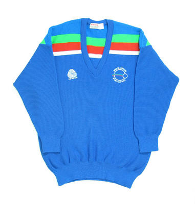 Jumper in Sri Lanka team colours, 1992 Benson & Hedges World Cup
