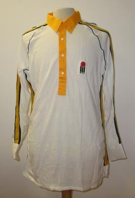 World Series cricket shirt worn by Doug Walters