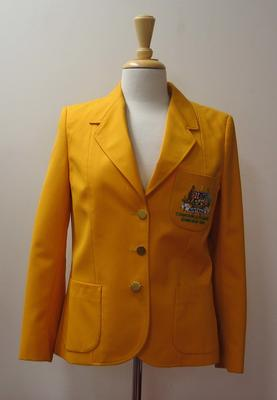 Blazer, Australian team uniform, 1986 Edinburgh Commonwealth Games