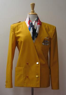 Freeman Olympic Bid blazer and scarf