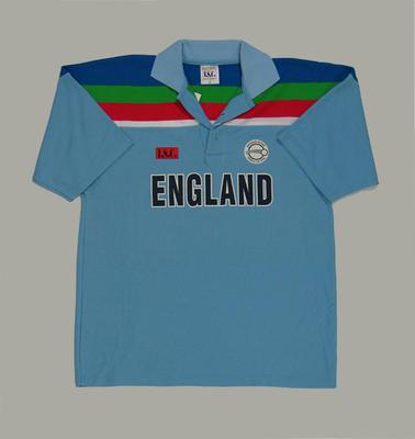 England team shirt, 1992 Cricket World Cup