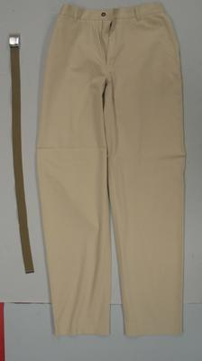 Pants and belt, casual Australian team uniform, 2000 Sydney Olympics