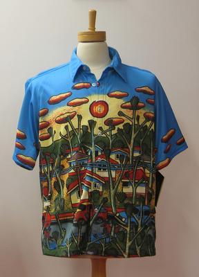 Shirt, Australian team Closing Ceremony uniform, 2000 Sydney Olympics