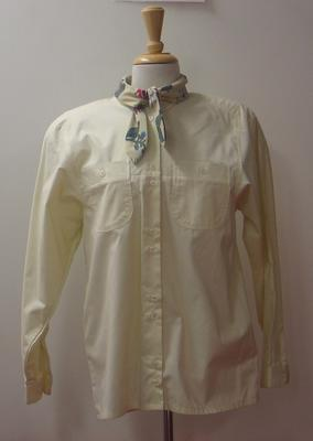 Shirt with necktie, Australian team uniform, 1992 Barcelona Olympics