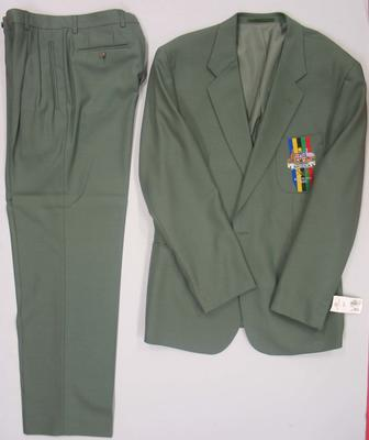 Blazer and pants, official Australian team uniform, 1992 Barcelona Olympics
