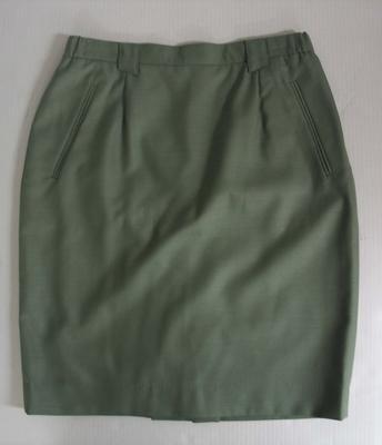 Skirt, official Australian team uniform, 1992 Barcelona Olympics