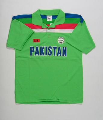 Pakistan team shirt, 1992 Cricket World Cup