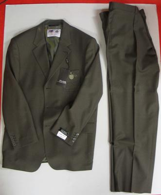 Blazer and pants, Australian team uniform, 2002 Salt Lake City Winter Olympics