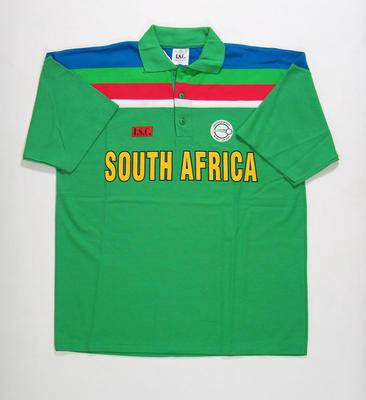 South African team shirt, 1992 Cricket World Cup